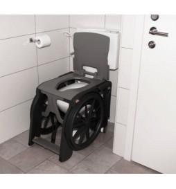 Fauteuil d'aisance pliant toilettes et douches WheelAble