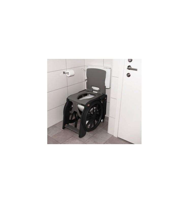 Fauteuil d'aisance pliant pour toilettes et douches WheelAble