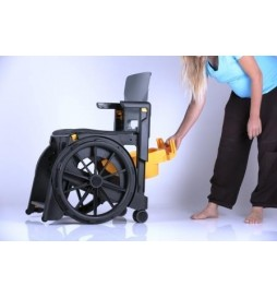Sceau de toilette - Option fauteuil WheelAble
