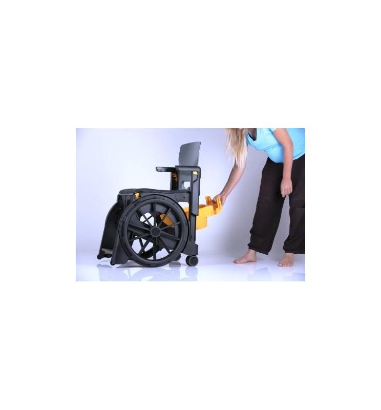 Sceau de toilette - Option fauteuil WheelAble
