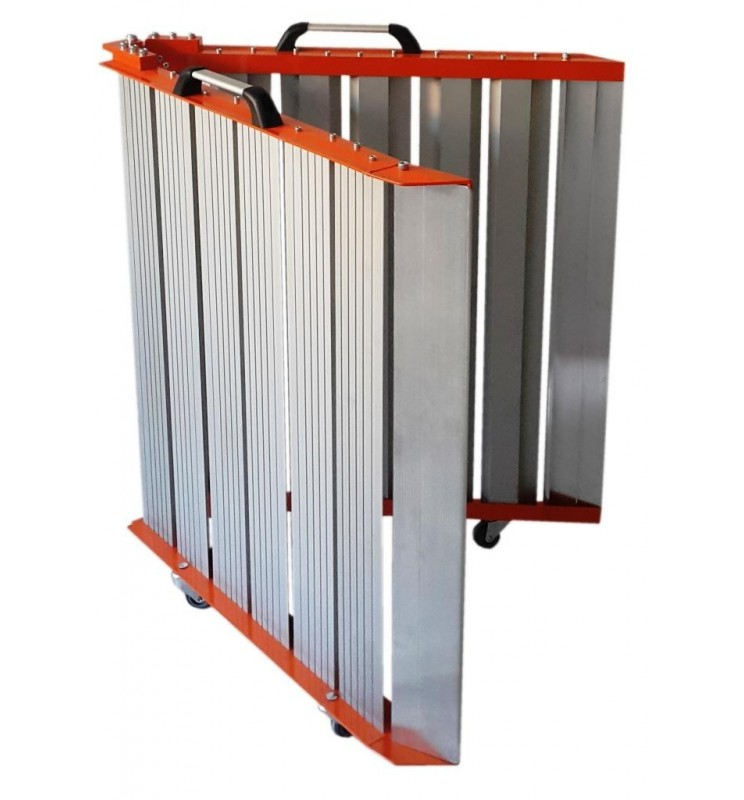 Rampe pliante en aluminium largeur 82 cm