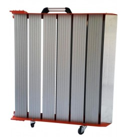 Rampe pliante en aluminium largeur 90 cm