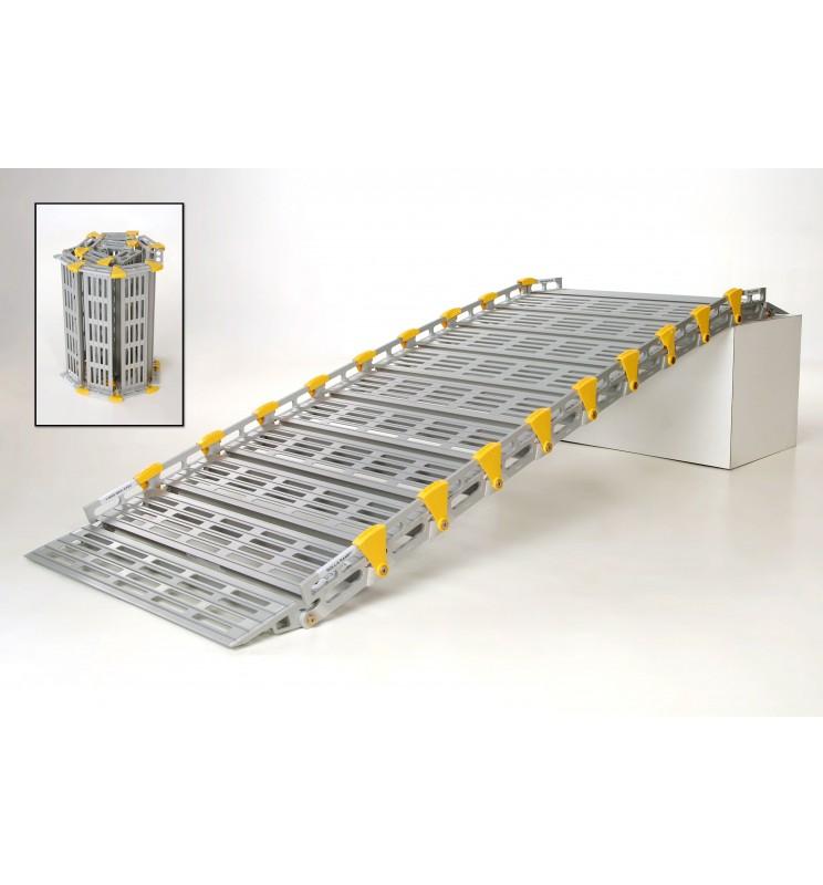 Rampes modulaires en aluminium largeur 91 cm