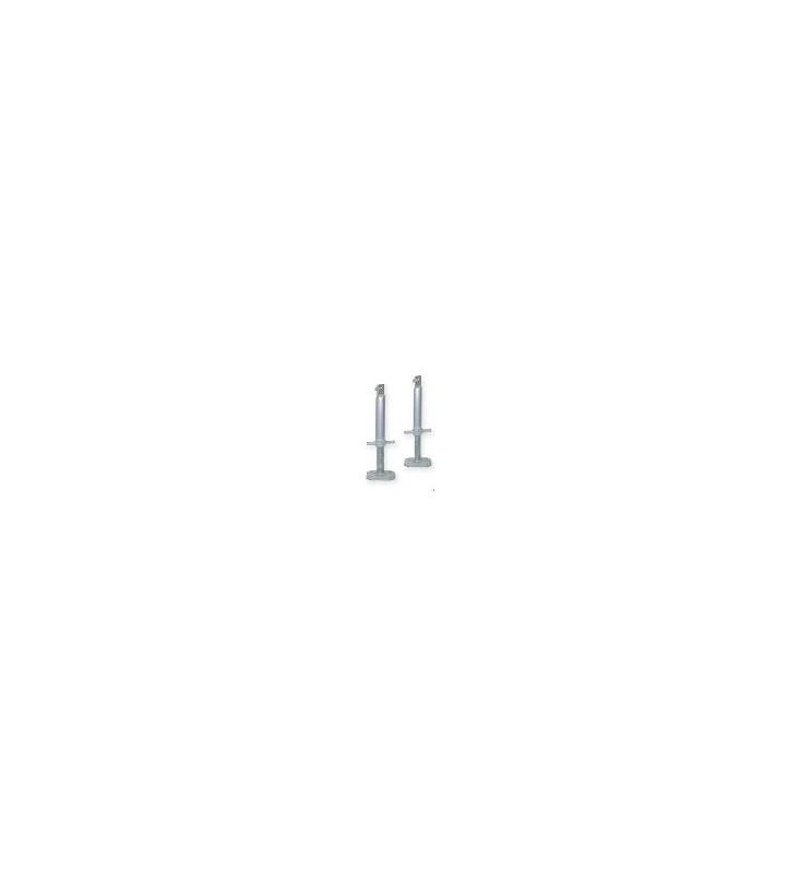 Paires de pieds 25-35 cm - Option rampes modulaires en aluminium