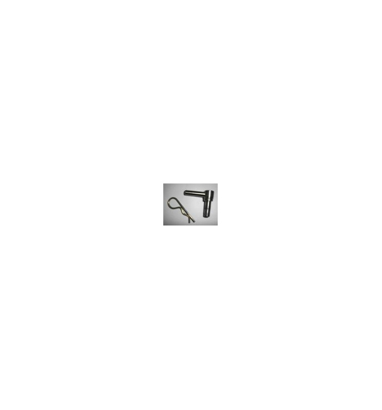 Jeu de deux goupilles - Option rampes modulaires en aluminium