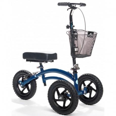 Tricycle orthopédique KneeRover Tout Terrain bleu KR 01
