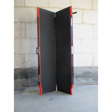 Occasion - Shop Ramp XXL (183 cm) - coloris spécial rouge - ouverte