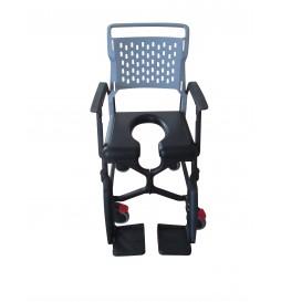Option fauteuil Bathmobile - Assise ouverte rembourrée BathMobile (16 mm ou 50 mm)