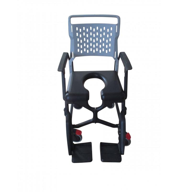 Option fauteuil Bathmobile - Assise rembourrée16 mm ouverture avant