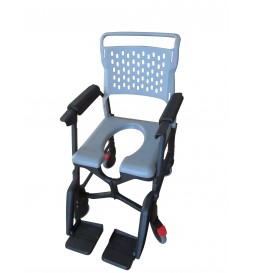 Option fauteuil Bathmobile - Accoudoirs rembourrés