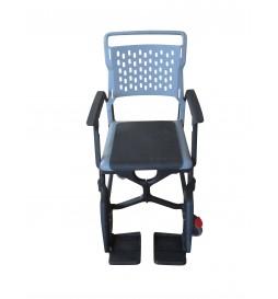 Option fauteuil Bathmobile - Assise fermée en caoutchouc