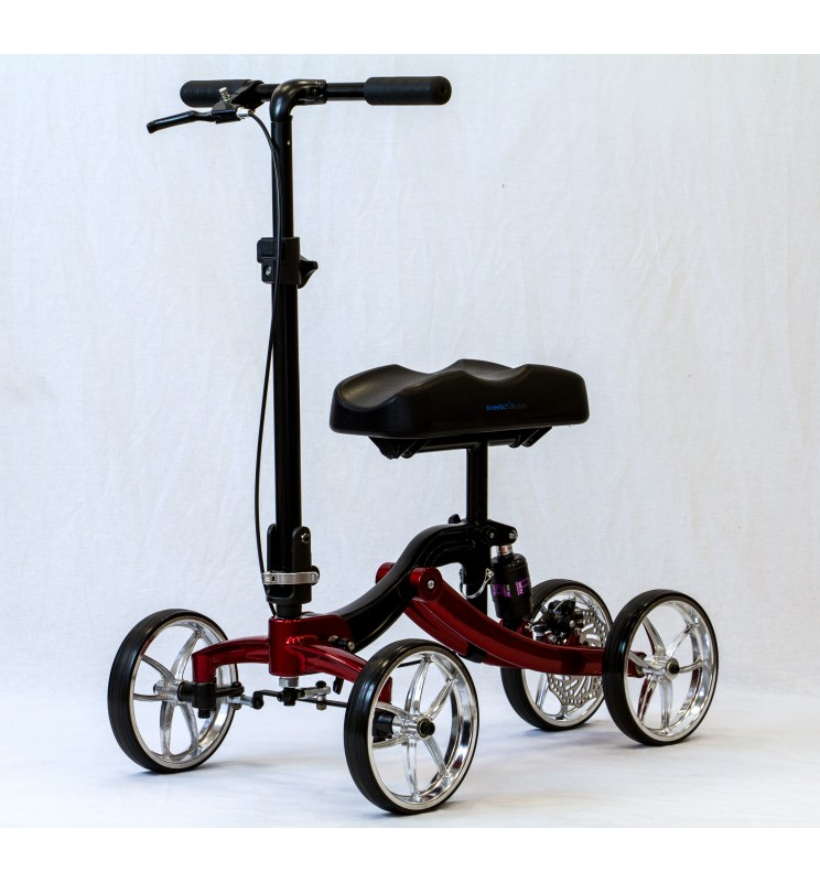 Tricycle orthopédique KneeScoot DeLuxe rouge