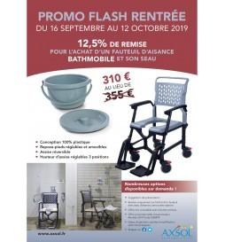 PROMO FLASH RENTRÉE - Fauteuil de douche BATHMOBILE
