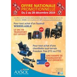 Offre spéciale Fauteuil d'aisance WheelAble + sac (offert)
