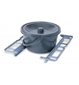 Option fauteuil Bathmobile - Supports et seau rond