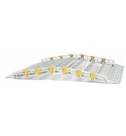Rampe modulaire en aluminium largeur 76 cm detouree