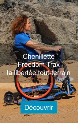 Chenillettes tout-terrain Freedom Trax